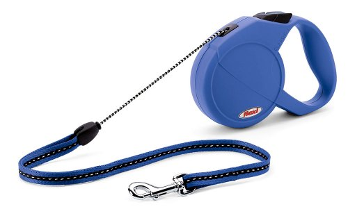 Flexi Classic Basic Leash, Small, Blue
