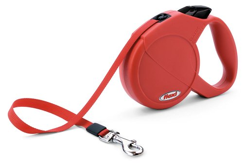 Flexi Lead Clasic Comfort for Dog, Medium, Red