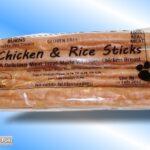 HEALTHY BURNS DOG TREATS CHICKEN & RICE STICKS GLUTEN FREE!