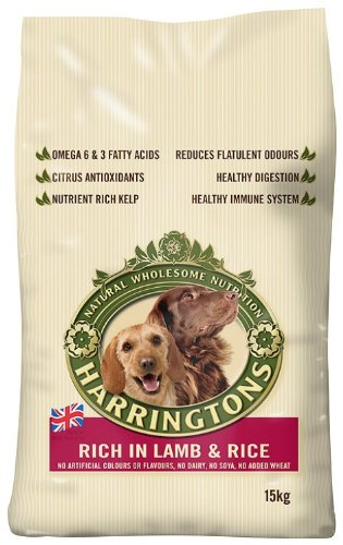 Harringtons Complete Lamb and Rice Dry Mix 15 kg