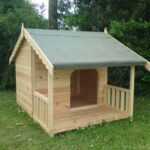 Luxury-Dog-Kennel-Summerhouse-with-Veranda-New-Model-Design-for-2013-Suitable-for-2-Dogs-0