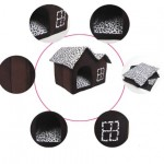 Luxury-High-End-Double-Pet-House-Brown-Dog-Room-55-x-40-x-42-cm-2