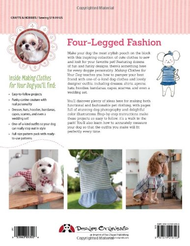 Making clothes for your dog how to sew and knit outfits for How to make a shirt for your dog