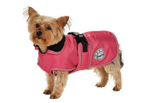 Masta Deluxe Dog Coat - Pink, 12 Inch