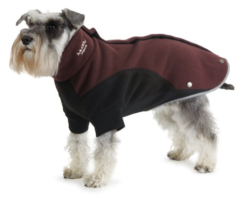 Muddy Paws Thermal Fleece Burgundy/black Medium