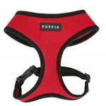 Puppia-Soft-Harness-M-Red-0