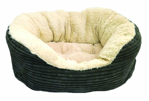 Rosewood Jumbo Cord/ Plush Dog Bed