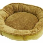 Rosewood-Tan-Plush-Wrap-Around-Dog-Bed-0