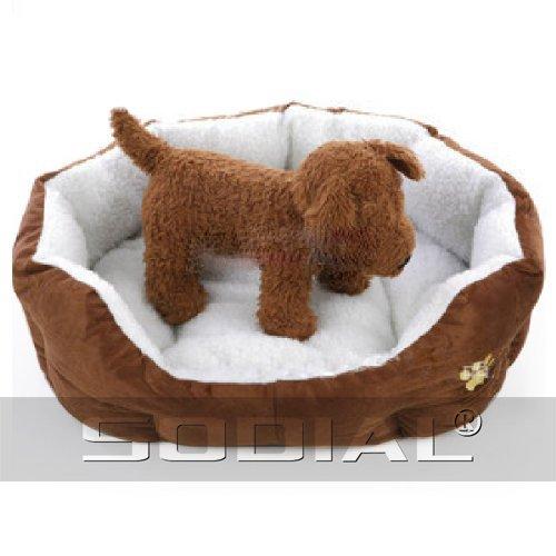 Sodial R Luxury Unique Warm Indoor Soft Pet Dog Cat Bed