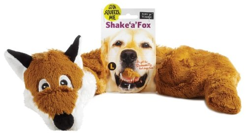 Shake 'a' Fox Dog Toy (Toy Size: Large)