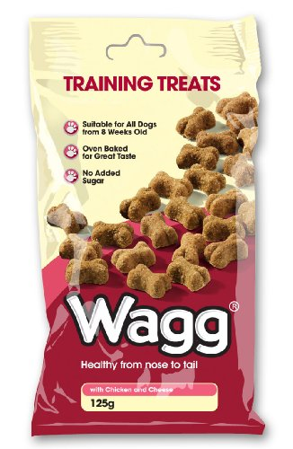 Wagg Training Treats With Chicken and Cheese 125 g (Pack of 7)
