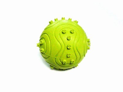 4 Soft Rubber Bouncy Ball Dog Toys