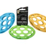 Cyber-Dog-Dog-Toy-Ball-Rugby-Rubber-Lattice-15cm-0