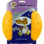 Cyber-Dog-Dog-Toy-Flying-Saucer-UFO-Rubber-Large-0
