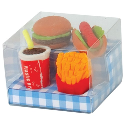Fast Food Novelty Erasers