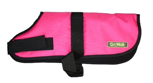 Go Walk Dog Coat, Large, Pink