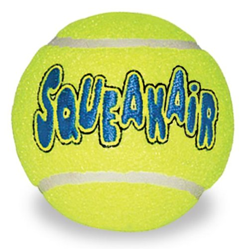 Kong Air Dog Squeaker Tennis Balls Large 2pk