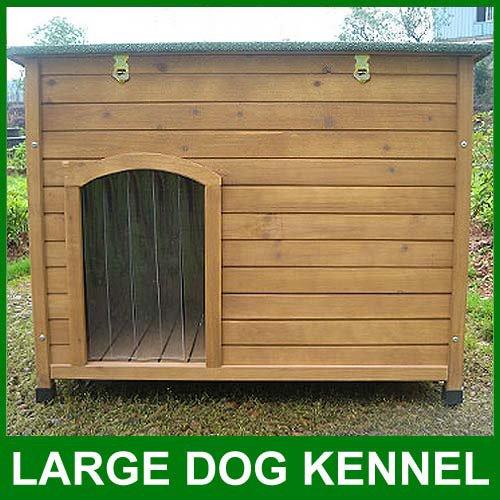 Flat Roof Dog Kennel Plans