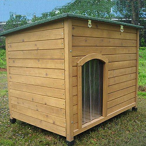 Dog Dog House Sloped Roof