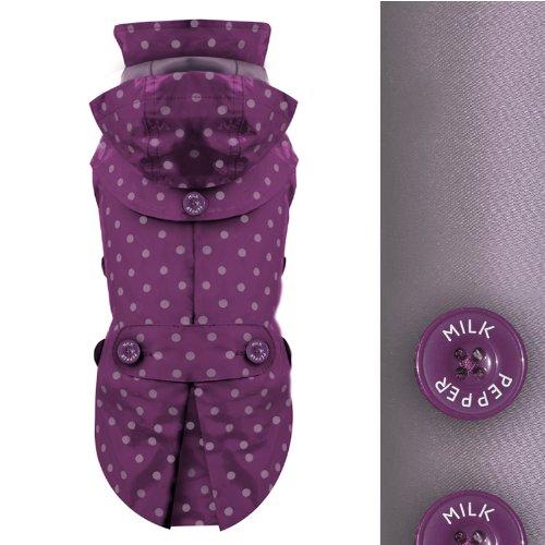Milk Amp Pepper Designer Dog Waterproof Fully Lined Raincoat