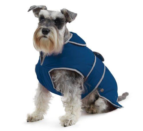Muddy Paws Stormguard & Fleece Lining Coat Blue Large