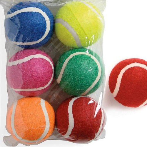 Sharples N Grant Fetch Tennis Balls, Pack of 6