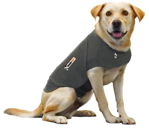 Thundershirt Anxiety Coat for Dog, L, Grey