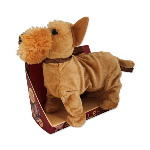 Benross Group Toys Plush Musical Walking Dog