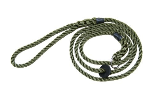 Dog Training - Gun Dogs - Working Dogs - Bisley Green Rope Slip Lead