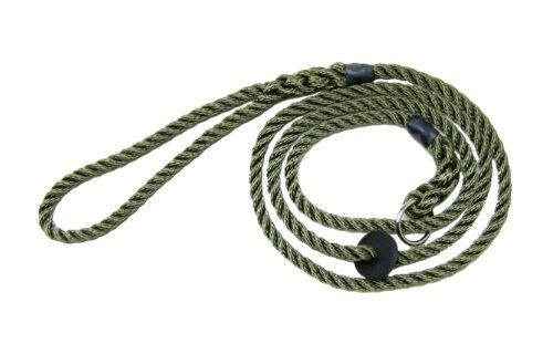Dog Training - Gun Dogs - Working Dogs - Bisley Green Rope Slip Lead