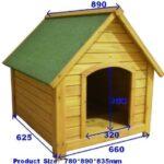 Pisces-Oxford-Deluxe-Wooden-Dog-Kennel-Medium-89cm-x-78cm-x-82cm-0