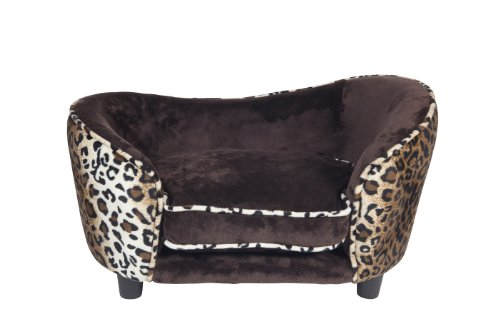Ultra Plush Snuggle Bed, Leopard