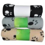 DIGIFLEX 3 x Large Dog Cat Pet Soft Fleece Blankets 68cm X 92cm