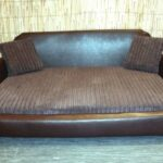 Zippy-Faux-Leather-Sofa-Pet-Dog-Bed-Extra-Large-Brown-Brown-Jumbo-Cord-0