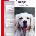 BEAPHAR LARGE DOG FLEA & TICK DROPS TREATMENT 12 WEEKS PROTECTION