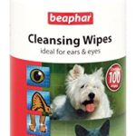 Beaphar-Cat-Dog-Cleansing-Wipes-Ideal-For-Ears-And-Eyes-100-Hygienic-Wipes-0