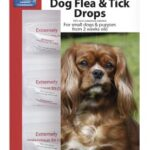 Beaphar Dog Flea and Tick Drops for Small Dogs and Puppies