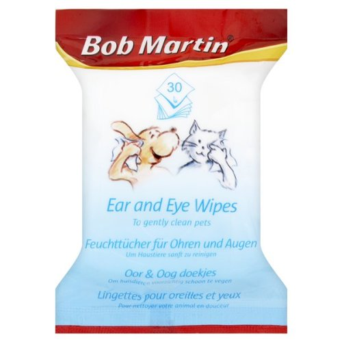 Bob Martin Ear and Eye Wipes, Pack of 30