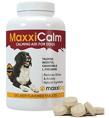 Dog Calming Tablets Maxxicalm