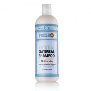 Fresh Dog Natural Oatmeal Shampoo for Dry Skin & Coat, 17 oz / 500 ml