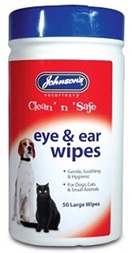 Johnsons Veterinary Products Ear and Eye Wipes