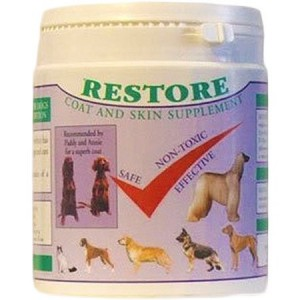 Restore:For a fantastic coat & healthy skin for show dogs and cats. (500g)
