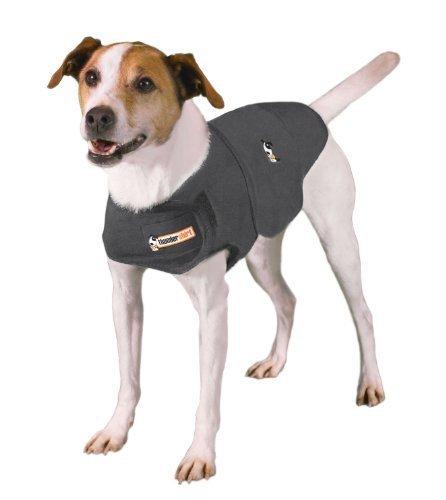 Thundershirt Anxiety Coat for Dog, S, Grey