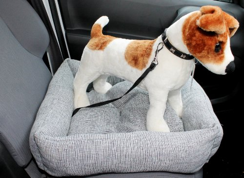 Dog Puppy Car Bed Seat Cushion Travel Protector