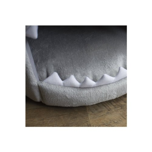 Skl Shark Round Pet House Puppy Bed With Removable Cushion