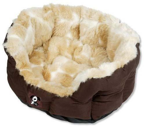 Yap Peluchi Giraffe Oval Pet Bed, 18 inch