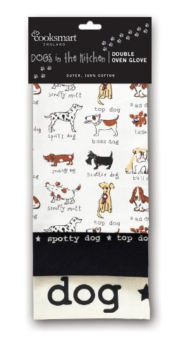 Cooksmart Dogs Premium Tea Towels, 3 Pack