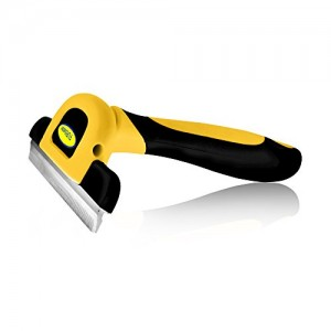 Deshedding Tool & Pet Grooming Brush- No.1 BEST SELLER On Amazon.com; For Small, Medium & Large Dogs, Cats & Horses, With Short to Long Hair. Dramatically Reduces Shedding In Under 15 Minutes Guaranteed