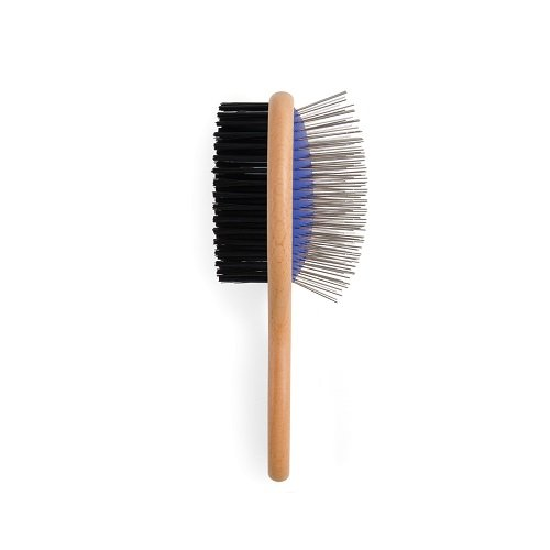 Heritage Wood Handle Double Sided Brush Large