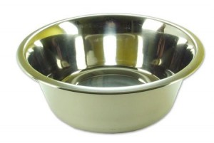 Rosewood Stainless Steel Bowl Deluxe, 8-inch
